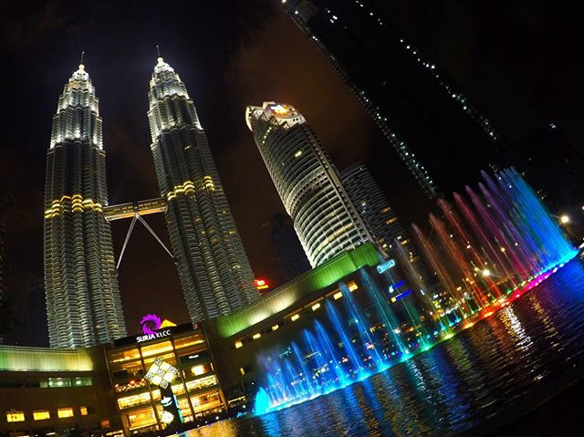 Petronas twin towers i Kuala Lumpur, Malaysia