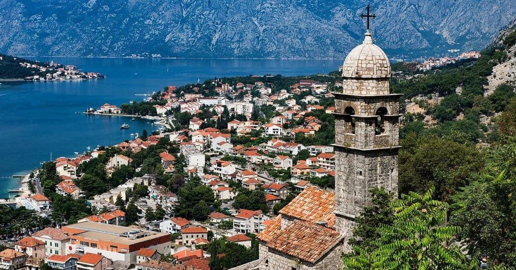 Montenegro and sea