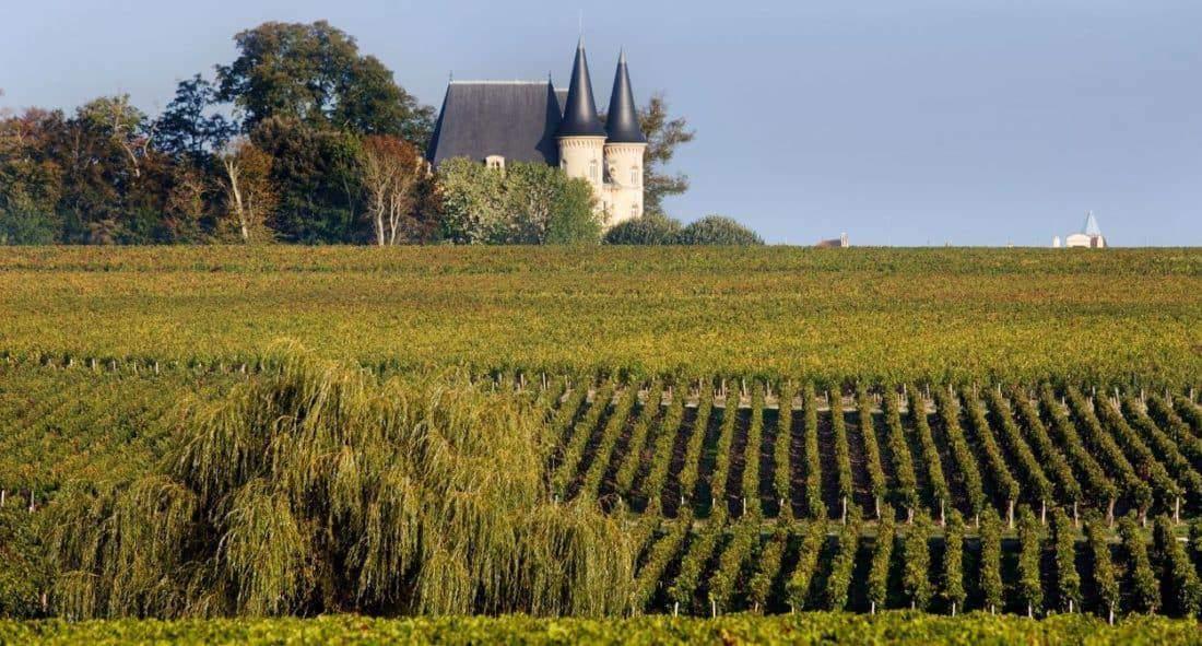 Bordeaux-Frankrig.-Chateau-Pichon-Longueville