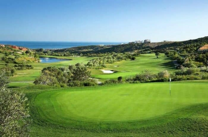 Finca Cortesin golf bane