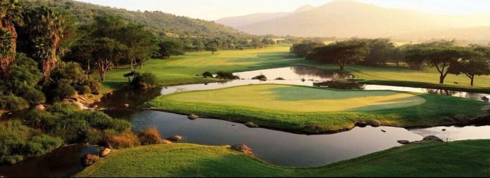 Sydafrikanske golfbaner.