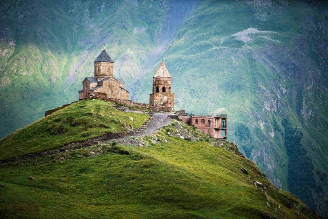 Georgien-sameba-monastery