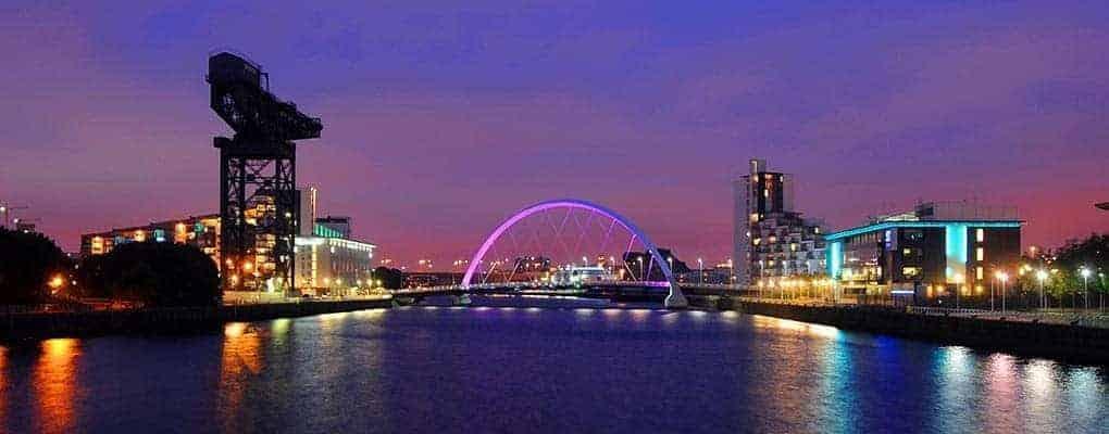 Glasgow, a modern big city