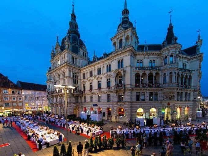 Graz - a capital of gastronomy and wine in Austria