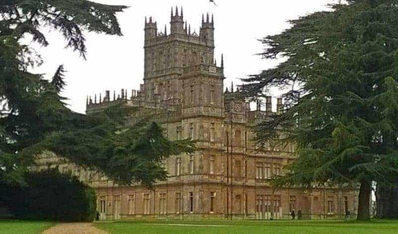 Highclere Castle, where Downton Abbey was shot