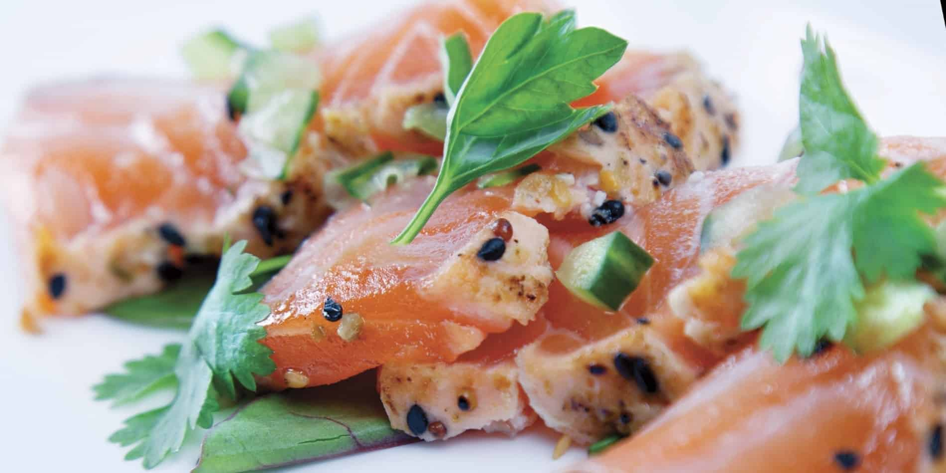Hurtigruten, lovely fish menu