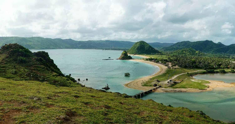 Lombok, Kuta Beach
