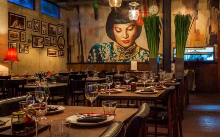 Mamasan restaurant, Seminyak, Bali