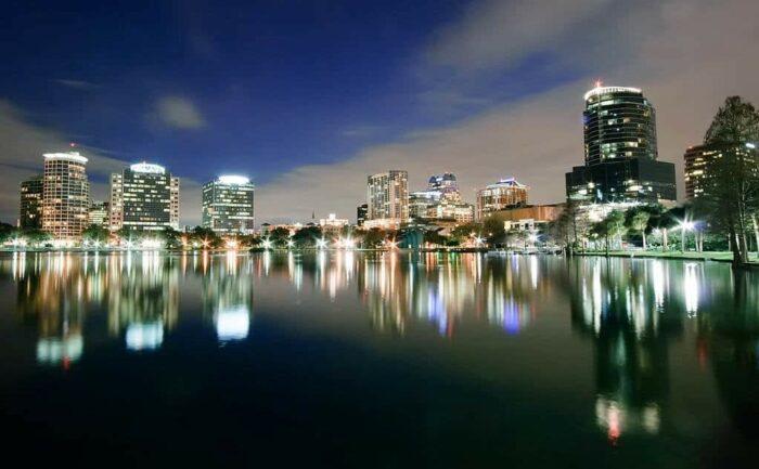 Orlando by night