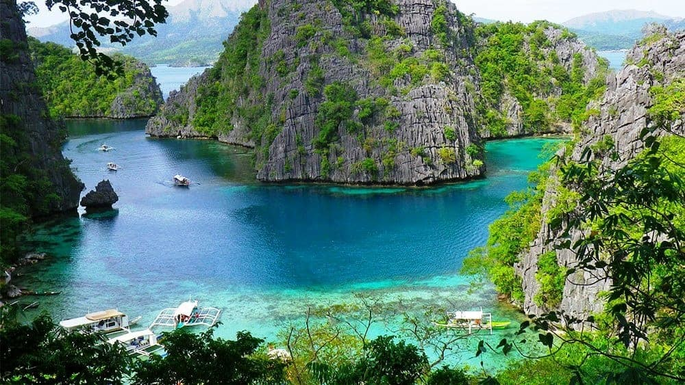 Palawan, Philippines,1700 tropical islands for your vacation