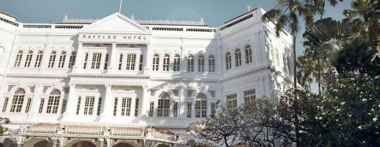 Rygterne om lukning af Raffles Hotel i Singapore var stærkt overdrevne