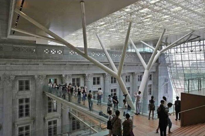 Singapore National Gallery åbnede i 2015 som et moderne museum