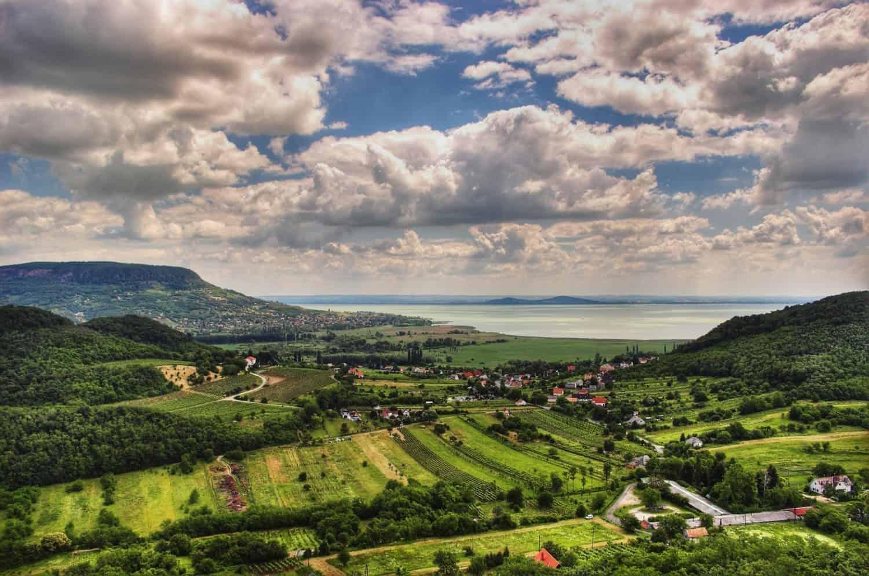 Hungary, lush landscape
