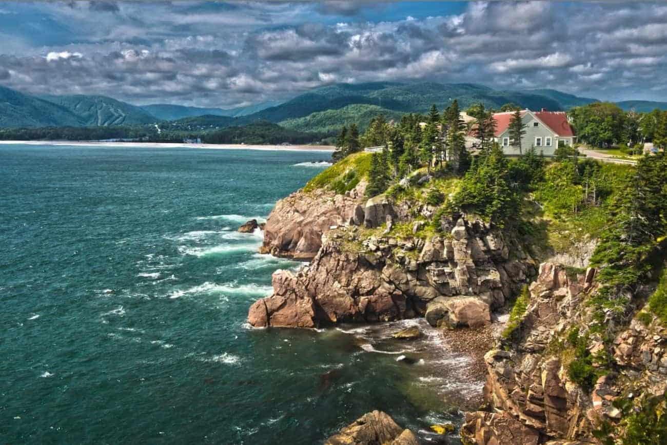 På yoga ophold i Nova Scotia i det østlige uberørte Canada