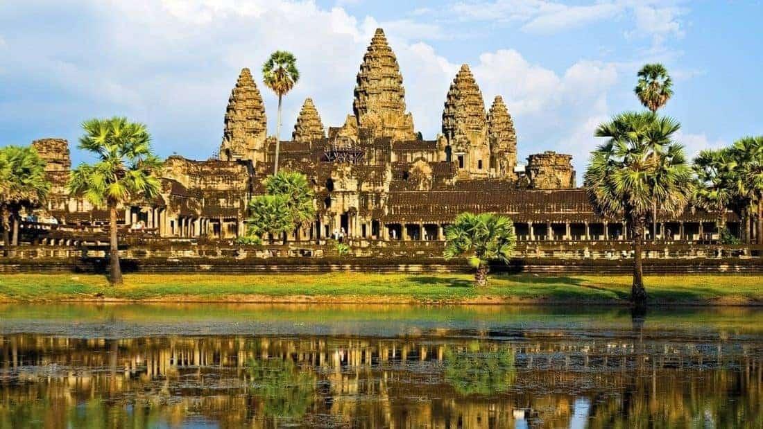 Cambodia Siem Reap og Angkor Temple