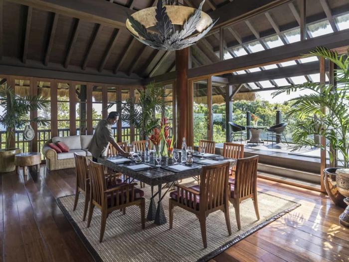 Shangri-la, boracy. treetop villa 21 deck