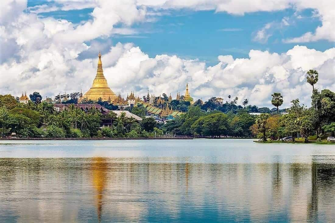 Yangon i Myanmar