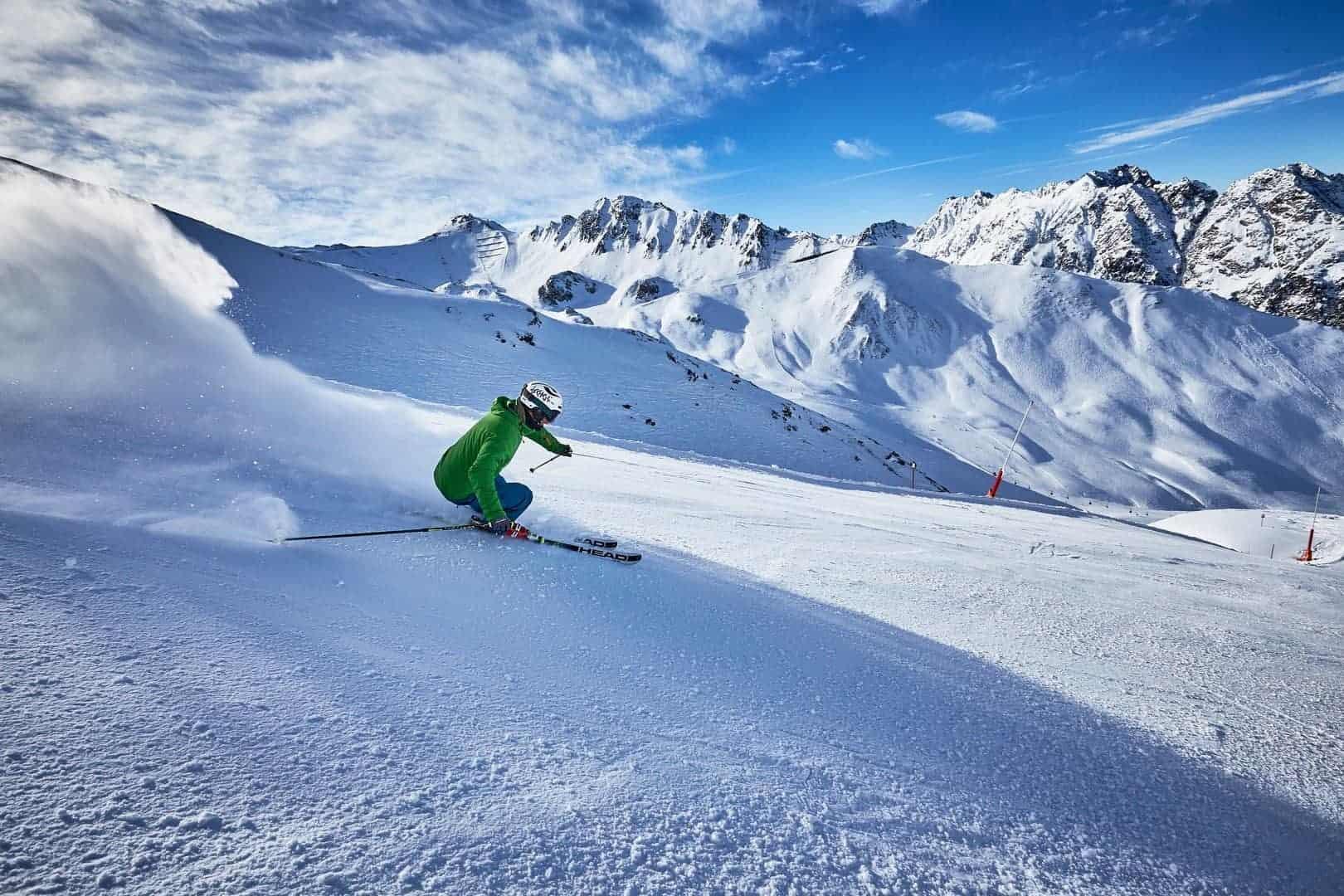 Ischgl spring skiing