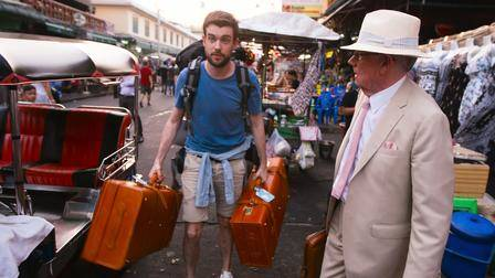 Jack Whitehall. Travels with my father