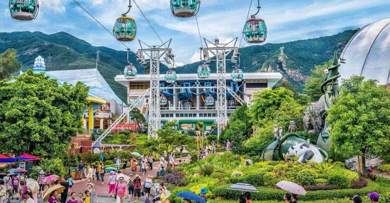 Oceanpark Hong Kong CableCarStation