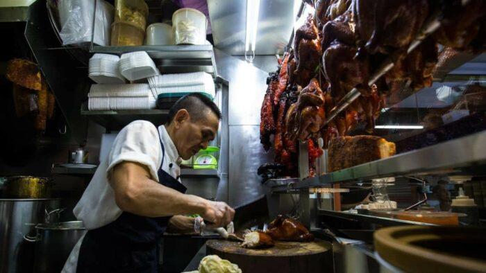 singapore michelin street food
