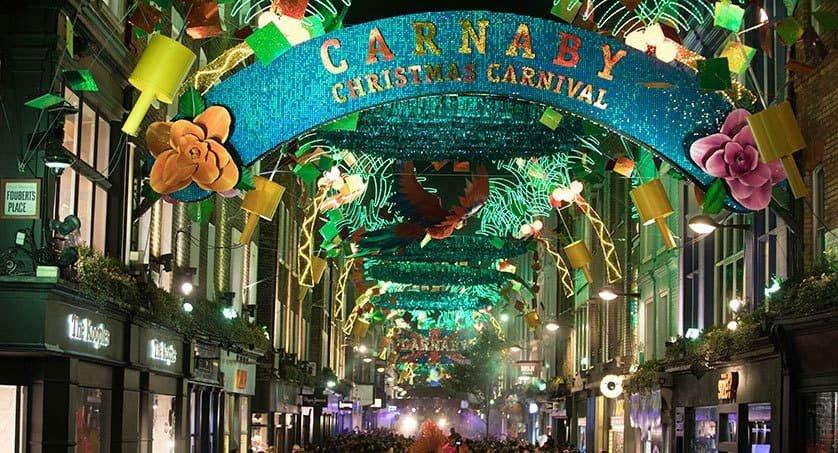 Carneby Street London England