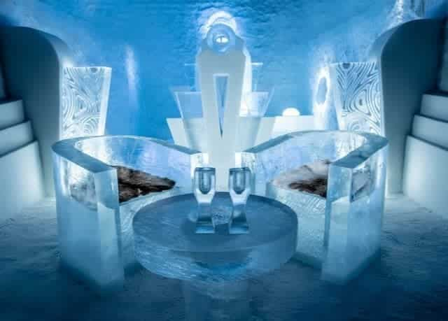 Ice hotels sweden