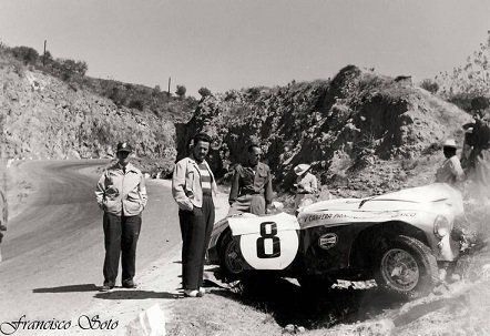 Panamericana, Felice Bonetto, famous driver in some problems in 1953