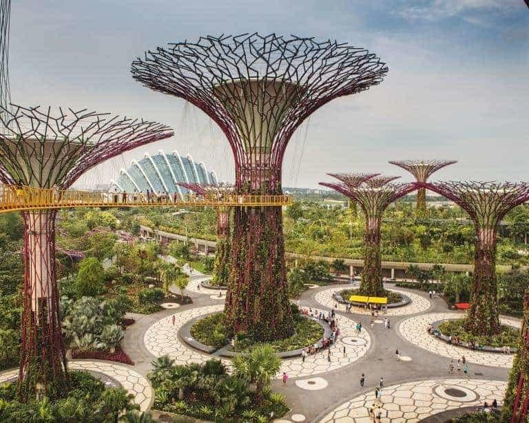 Singapore som grøn by