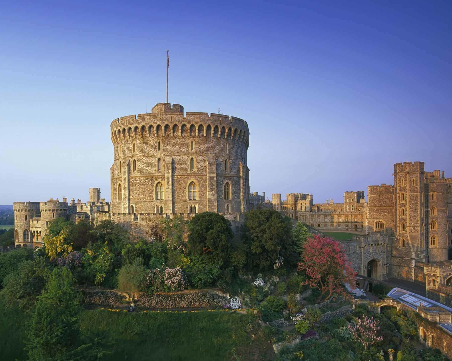 London, Windsor Castle Queen Elizabeth d. 2's weekend home