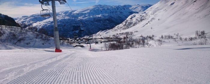 Western Norway, Hardangerfiord, also has Scandinavian top skiresorts