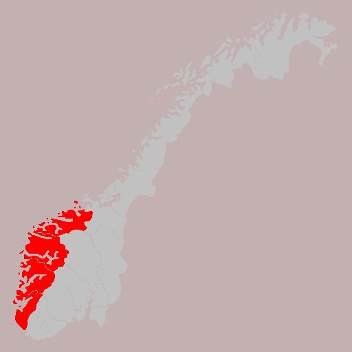 Vestlandet Norge