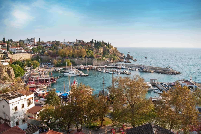 Antalya i den smukke bugt