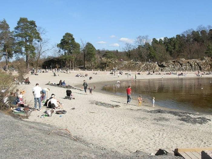 Bygdøy Sjøbad Sandstrand