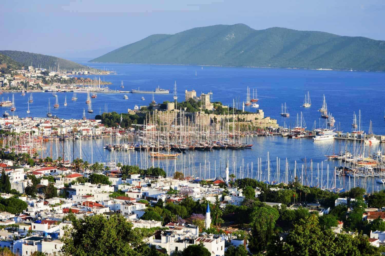 The Turkish Riviera, Bodrum harbour