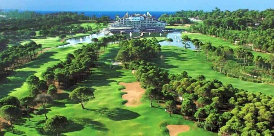 Sueno Golf Club in Belek Turkey