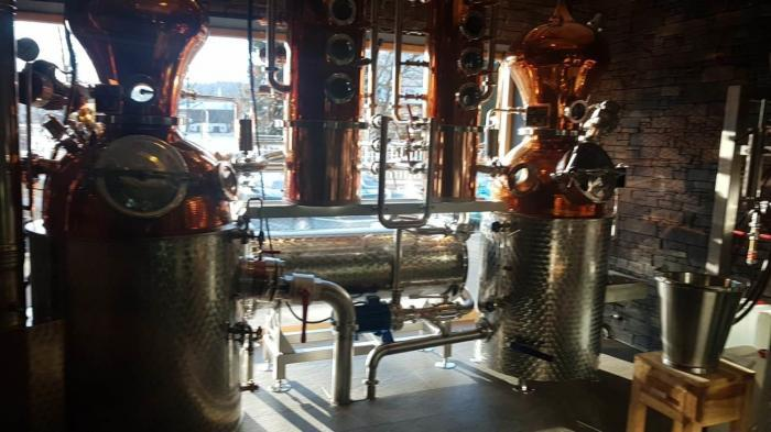 St. Johann destillery 200 years old and still used