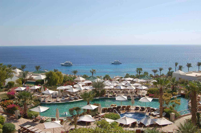 Luksushotel i Sharm el Sheikh, Egypten