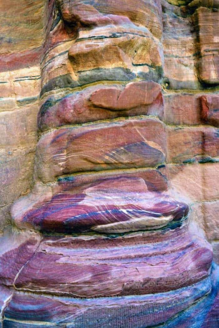 Petra i Jordan, sandstens udsmykning