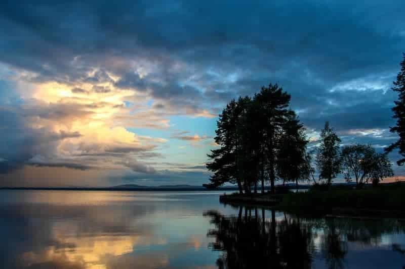 Camping in Sweden, Dalarna
