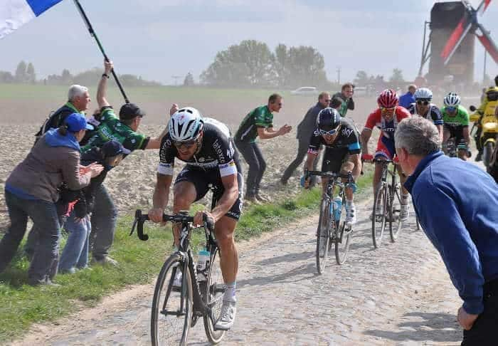 Flandern brostens etape i Tour de France