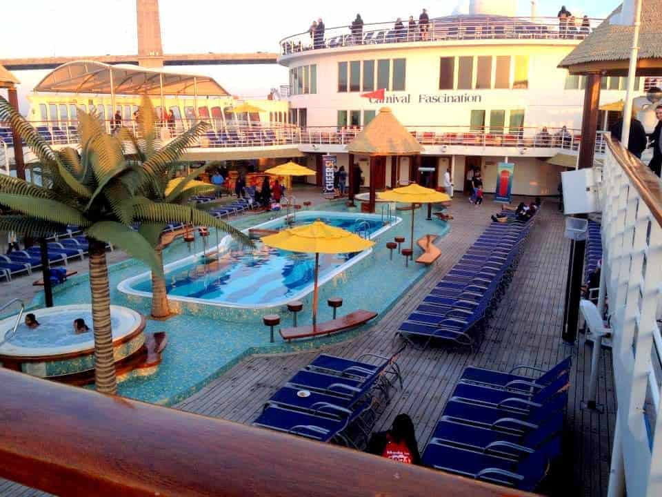 Florida cruise 2. what a deck