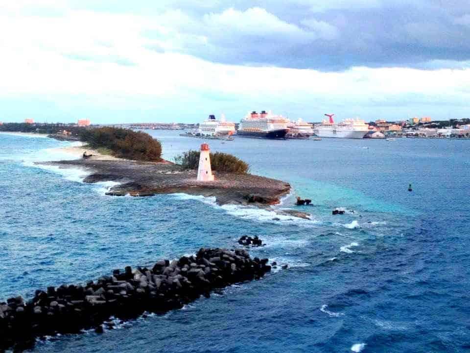Florida to the Bahamas