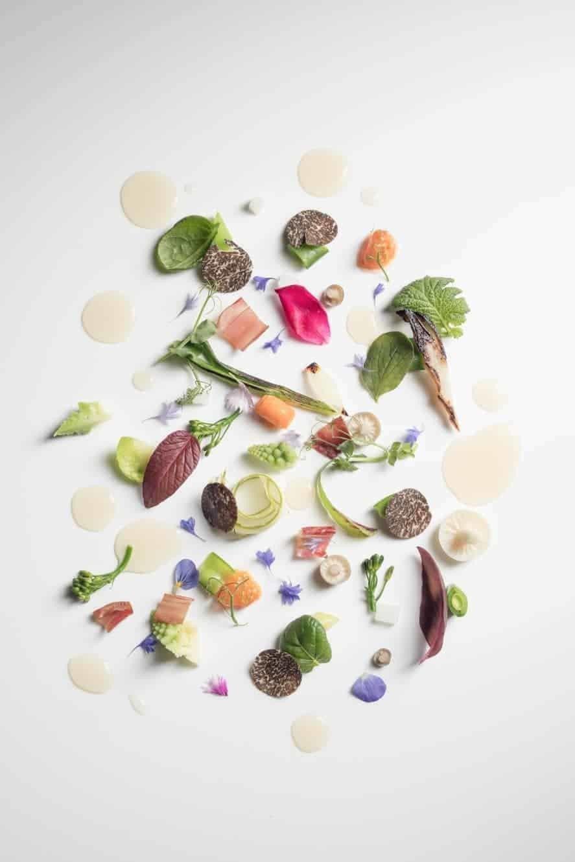 Iggy´s Singapore, grøntsagshaven på tallerken