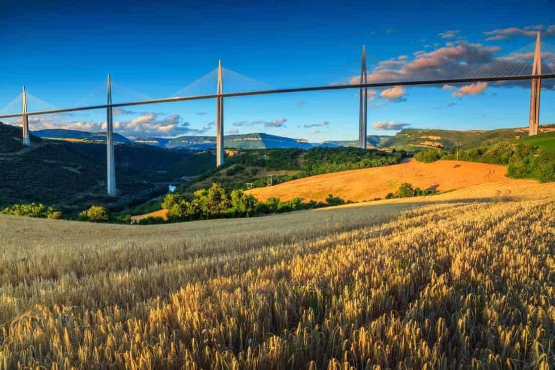Millau, Aveyron region, Frankrig
