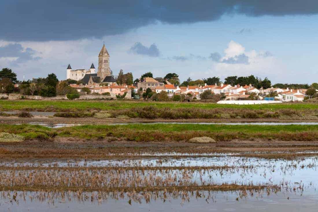 Noirmoutier øen Frankrig