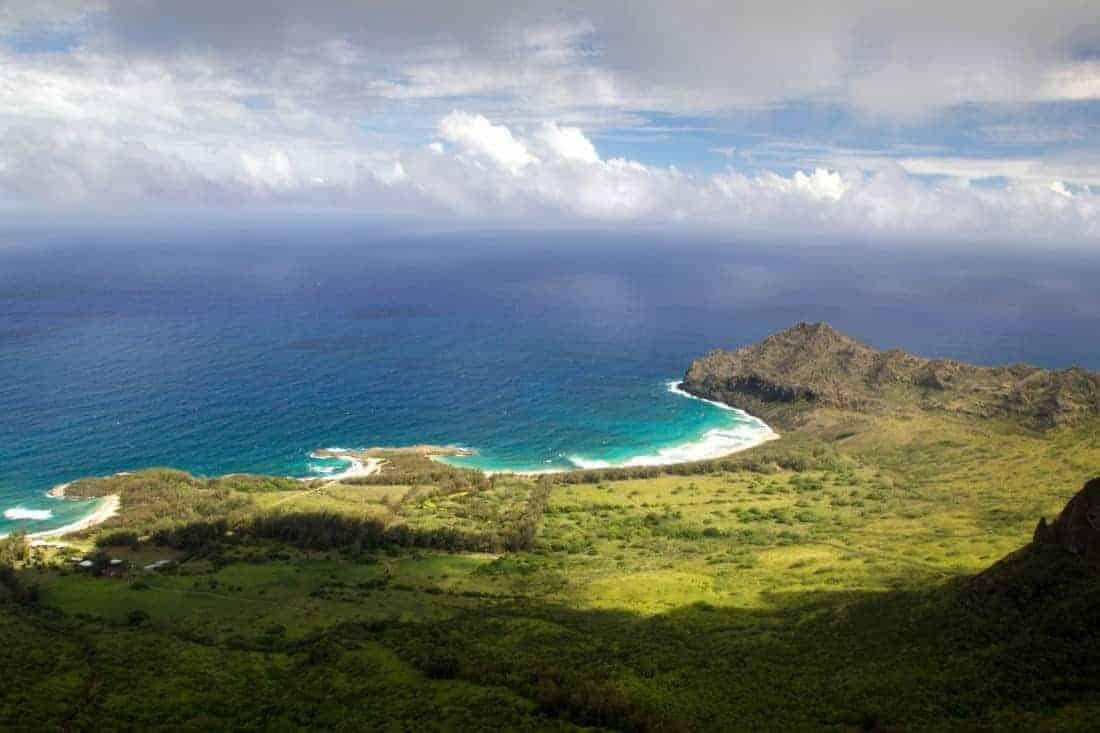 Kauai Hawaii east coast