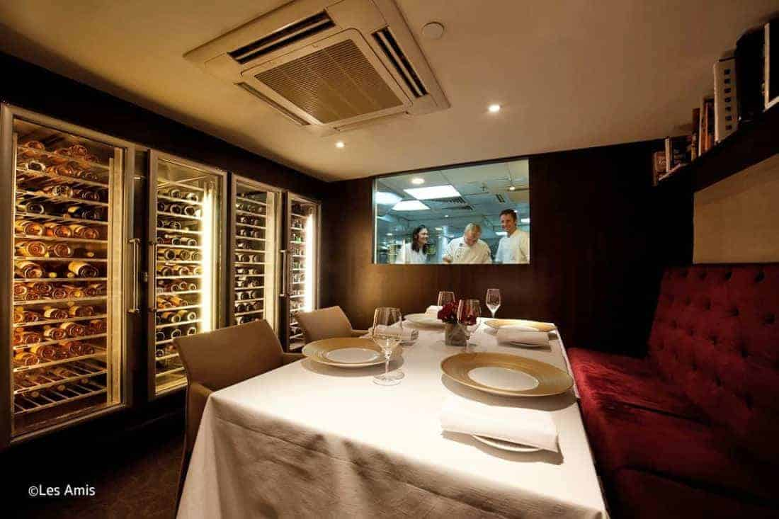 les-amis, en de bedste restauranter i Singapore