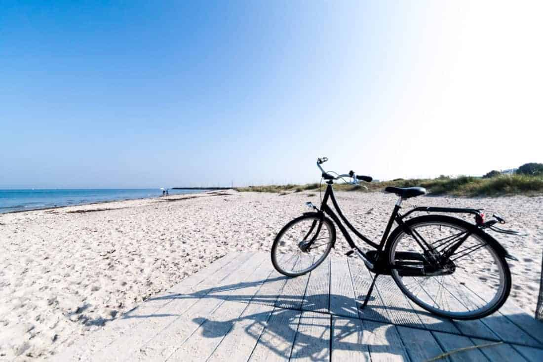 Biking in Denmark (Helsinore)
