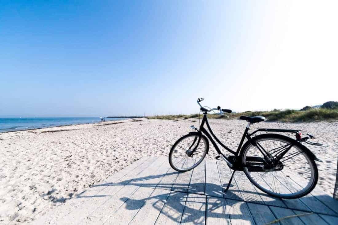Biking in Denmark (Helsinore)